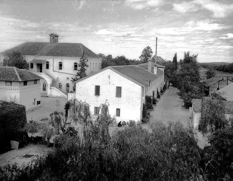 מקוה ישראל 1939