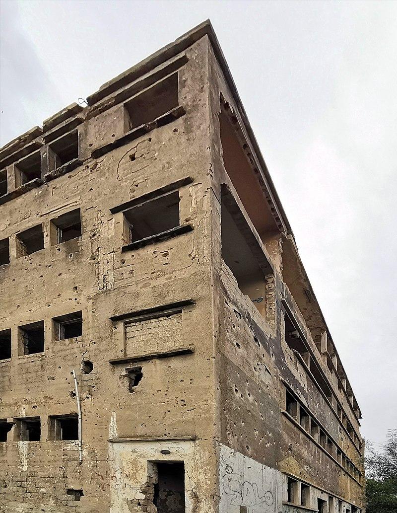 בניין מפקדת חסן סלאמה