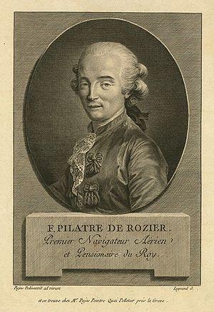 Jean-François Pilâtre de Rozier - Image: Pilatre de Rozier