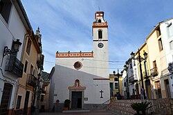 Plaça de l'església de Castell de Castells.jpg