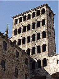 Torre del Rei Martí, del Palau Reial Major de Barcelona