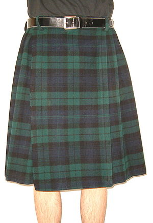 Plaid Kilt Nontraditional