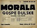 Plakat za predstavo Morala gospe Dulske v Narodnem gledališču v Mariboru 6. novembra 1929.jpg