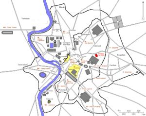 Porticus of Livia - Location of the portico of Livia.