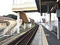 Platform of Kajikuri-Godaichi Station 3.jpg