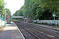 Platforms and overbridge, Chirk railway station (geograph 4024219).jpg