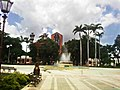 Plaza Bolivar de Maracay Fuente Central y Torre Sindoni - panoramio.jpg