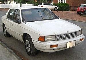 Plymouth Acclaim - 1993-1995 Plymouth Acclaim