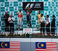 Podium at the 2011 Malaysian Grand Prix.jpg