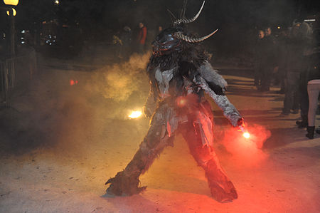 Krampus parade in Pörtschach am Wörthersee (2013) - Krampus
