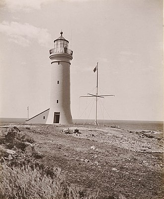 Point Stephens Light - The lighthouse in 1902.