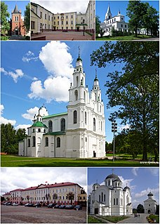 Polotsk City in Vitebsk Region, Belarus