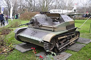 TKS - TKS tankette in the Polish Army Museum