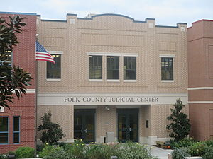 Polk County, Texas - Polk County Judicial Center, Livingston, Texas.
