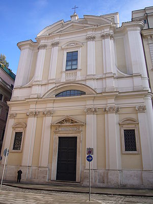 Sant'Apollinare alle Terme Neroniane-Alessandrine - Facade Sant'Apollinare