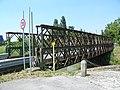 Ponte Bailey sul canale Bisatto (Marendole, Monselice) 01.jpg