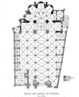 catedral de san malo pontoise wikipedia la. Black Bedroom Furniture Sets. Home Design Ideas