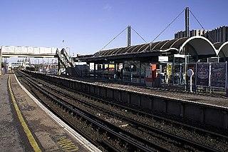 Poole railway station