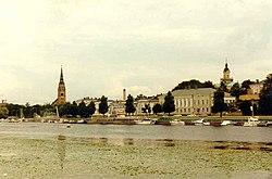Pori, the river Kokemäki and the central city..jpg