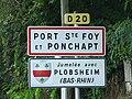 Port-Sainte-Foy panneau jumelage.JPG