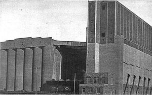C. D. Howe - Terminal elevator at Port Arthur, Ontario, built by Howe for the Board of Grain Commissioners