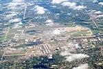 Port Columbus International Airport aerial view, September 2016.JPG