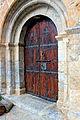 Porta de l'Església Parroquial de Santa Coloma - Arseguel -.jpg