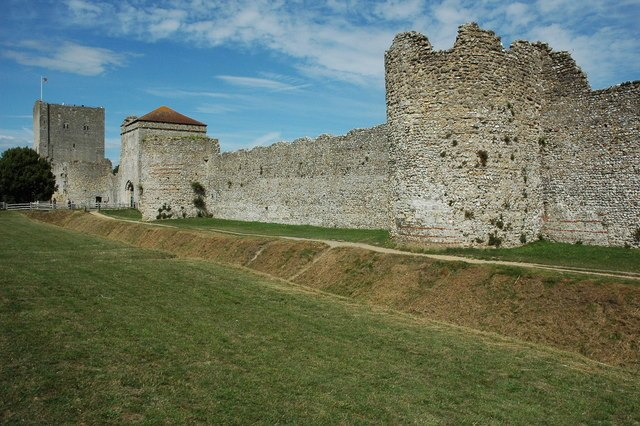 Portchester Castle - geograph.org.uk - 1413970