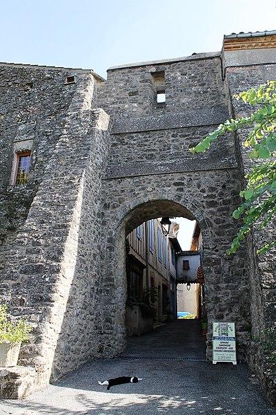 Porte du Cers à Saint-Julia