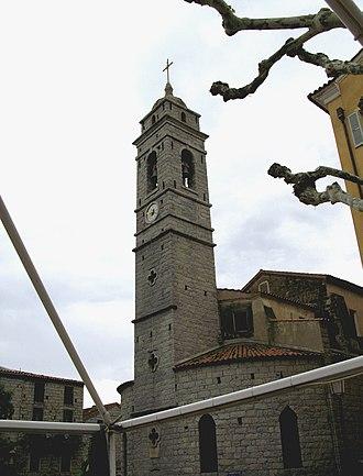 Porto-Vecchio - Image: Porto Vecchio église St Jean Baptiste 1