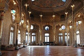 Palácio da Bolsa - Moorish Revival Arab Room.
