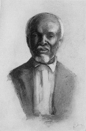 Cudjoe Lewis - Portrait of Cudjo Kazoola Lewis by Emma Langdon Roche, c. 1914