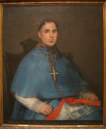 Portrait of Don Fr. Miguel Fernandez y Flores%2C circa 1815%2C by Francisco Jose de Goya y Lucientes %281740-1826%29 - IMG 7271