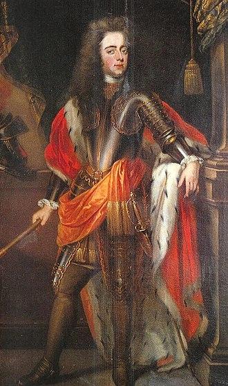 John William Friso, Prince of Orange - John William Friso, Prince of Orange (1710)  by Lancelot Volders