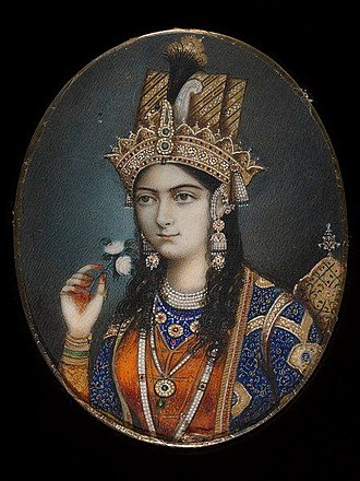 Mumtaz Mahal - An artistic depiction of Mumtaz Mahal