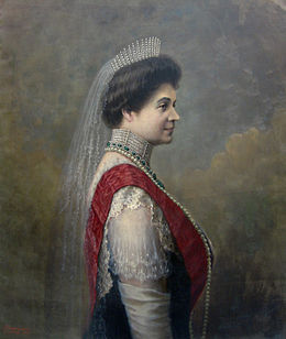 Portrait of Tsaritsa Eleonora of Bulgaria - oil painting.jpg