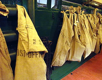 Mail bag - UK Railway mail bags