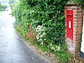 Postbox near Whitestone - geograph.org.uk - 1400642.jpg