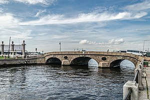 Prachechny Bridge in SPB.jpg