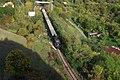 Praha, Hlubočepy, železniční zářez, parní vlak III.JPG