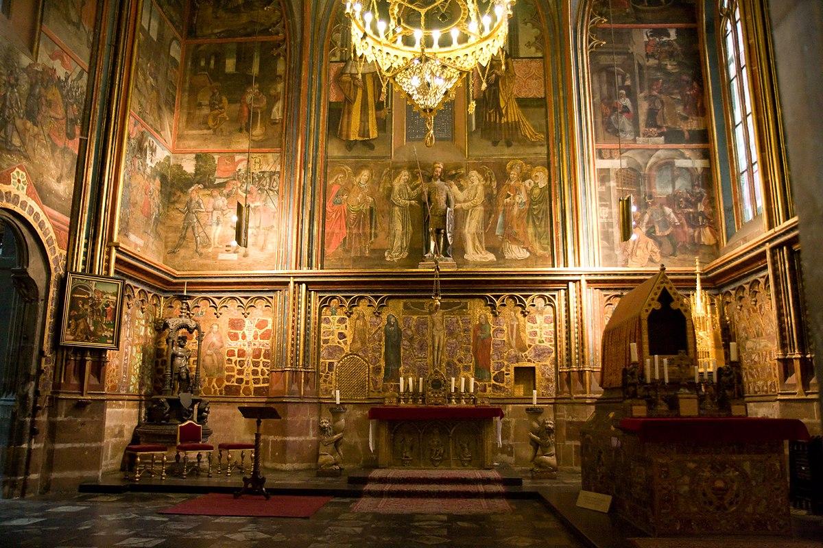 Praha, Katedrála, Svatováclavská kaple 03.jpg