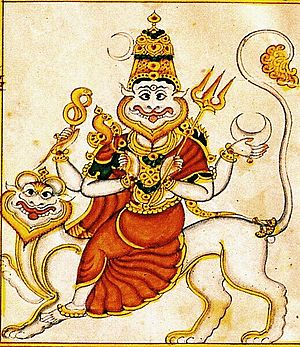 Pratyangira - Goddess Pratyangira