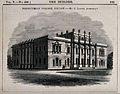 Presbyterian college, Belfast. Wood engraving by J. Laing, 1 Wellcome V0012213.jpg