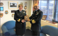 Presentation of Crest to RAdm (JG) Lesley Katerinic, Chief of Fleet Staff.png