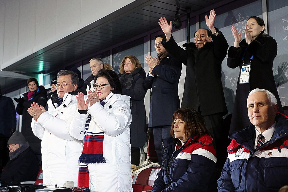 President Moon in PyeongChang 2018 opening ceremony-02
