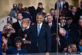 President and first lady wave to performers at 57th Inaugural Parade 130121-Z-QU230-268.jpg