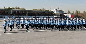 Presidential Guard Regiment (Turkey) - Image: Presidential Guard Regiment Turkey 2013 3