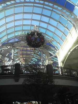 the king of prussia mall pretty. even when you...