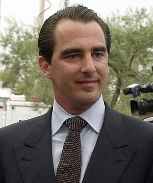 Prince Nikolaos of Greece and Denmark - Image: Prigkipas nikolaos