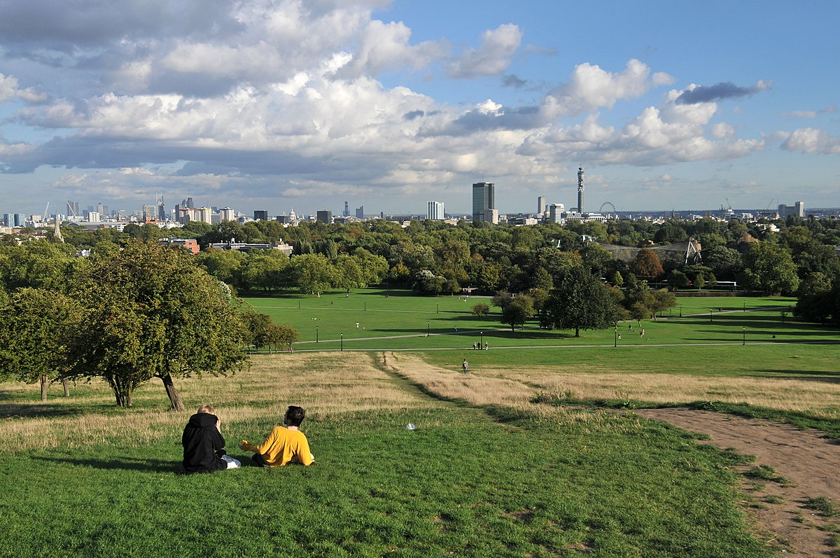 Greenwuch Park To Manjal Restaurant Canary Wharf